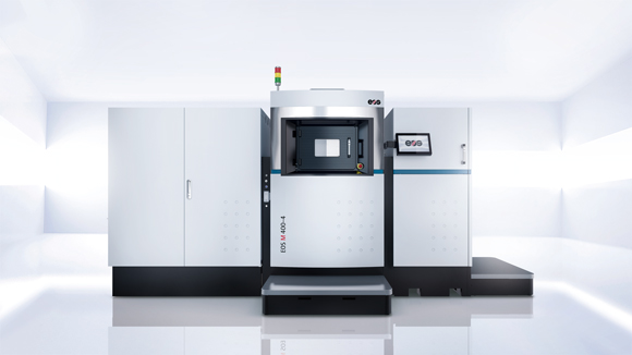EOS introduces its largest and fastest system for direct metal laser sintering
