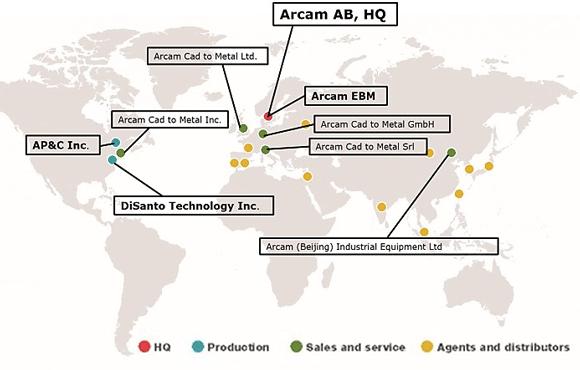 arcam-locations