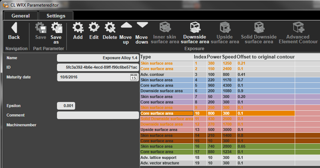 Concept Laser's new software offers full control of parameter settings