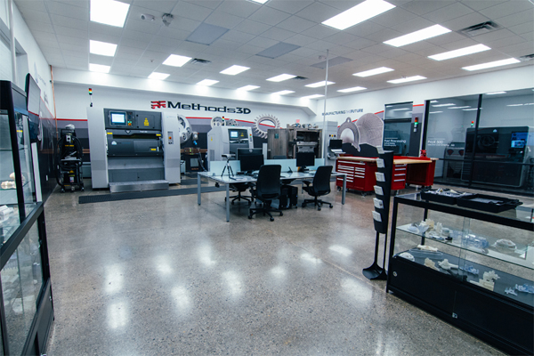 Methods 3D opens new US Additive Manufacturing labs