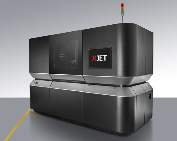 XJet world's first direct 3D metal ink-jet using nanoparticle jetting