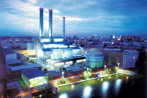 German power plant uses metal AM heat shields & vanes gas turbine