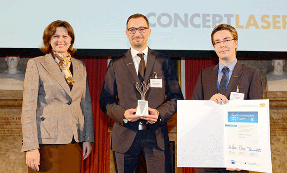 Concept Laser and its founder receive multiple awards