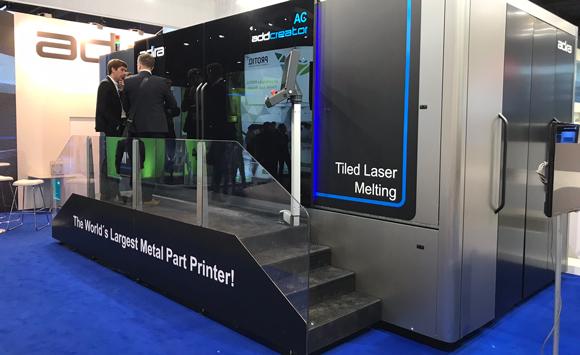 Adira presents AddCreator machine for large-scale metal Additive Manufacturing