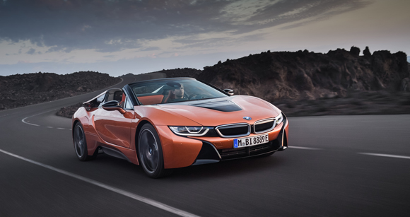 Metal 3D printed parts in series production for BMW's new i8 Roadster