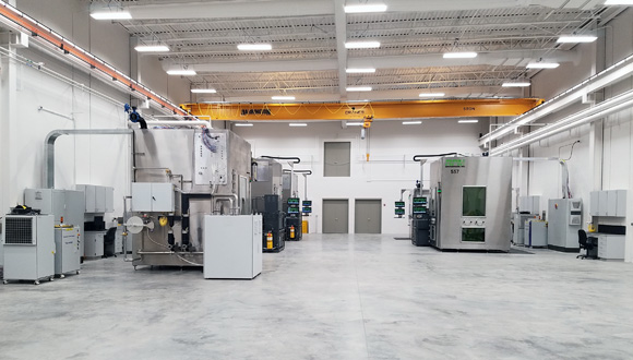 RPMI relocates to new facility under increased demand for Laser Deposition Technology
