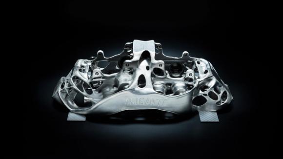 Bugatti to trial 3D printed titanium brake calipers
