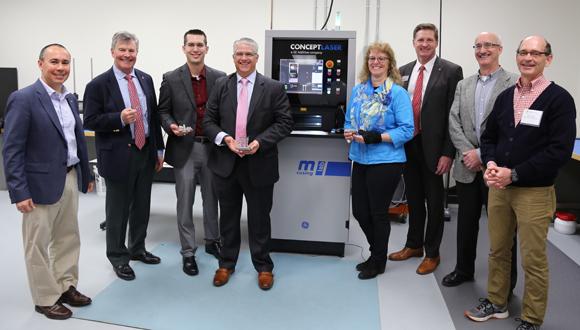 GE Additive Education Program donates Concept Laser machine to Ohio State University