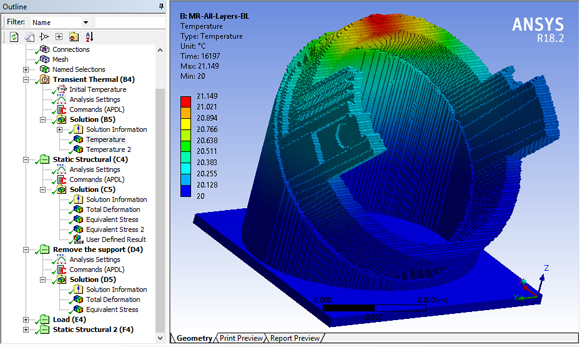 GENOA 3DP simulation software integrated into ANSYS platform