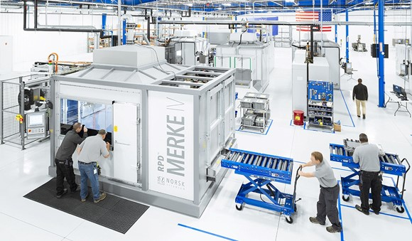 Norsk Titanium S New York Site Added To Spirit Aerosystems Approved