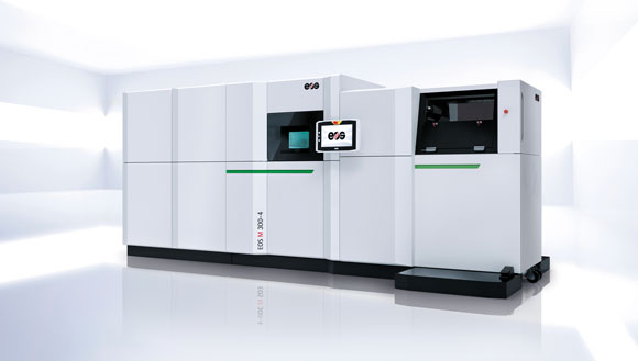 EOS M 300-4 metal Additive Manufacturing system unveiled at IMTS