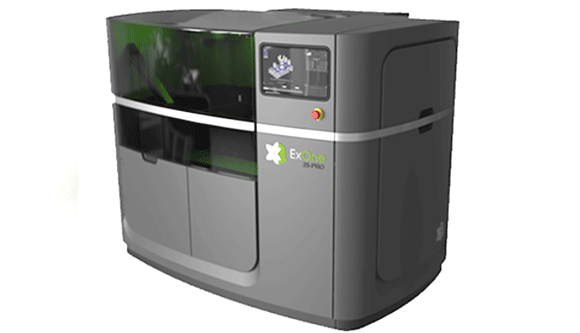 ExOne Company introduces its new X1 25PRO metal Additive Manufacturing system