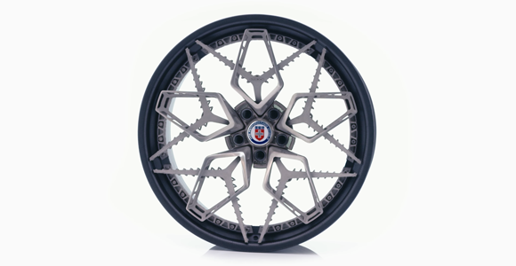 Titanium wheel created using EBM Additive Manufacturing