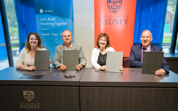 GE Additive signs metal Additive Manufacturing MoU with University of Sydney