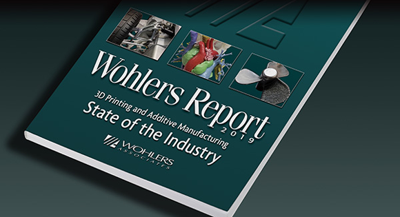 Wohlers Report 2019 details striking developments in Additive Manufacturing