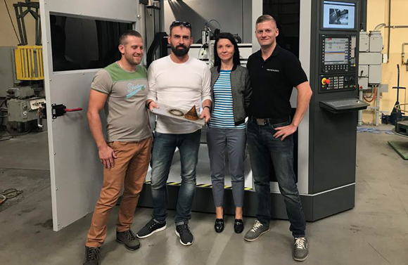 Gefertec Additive Manufacturing system installed at Poland's IMN
