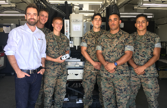 Marines employ mobile hybrid metal Additive Manufacturing solution