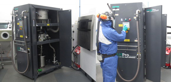 F1 component manufacturer doubles productivity with the Russell AMPro Sieve Station
