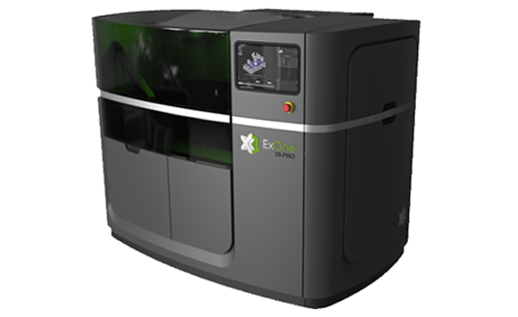 ExOne reveals new X1 25PRO metal AM system and announces Kennametal as beta customer