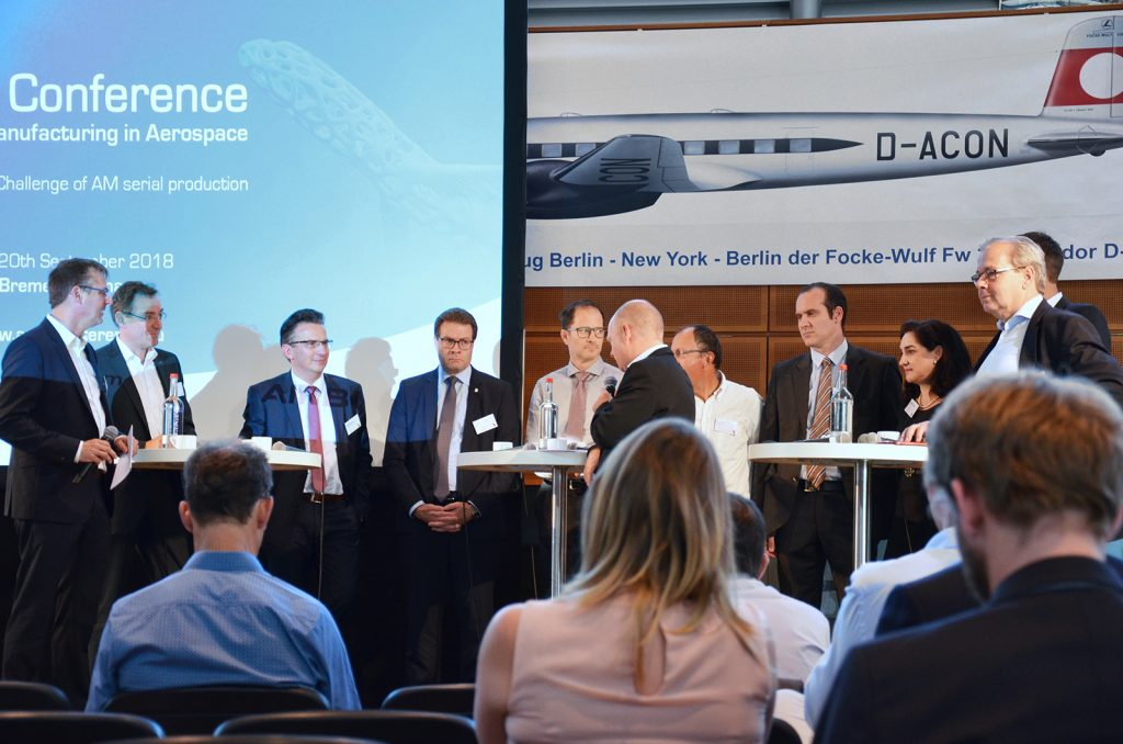 Additive Manufacturing in Aerospace: Highlights from the AMA 2018 international conference in Bremen
