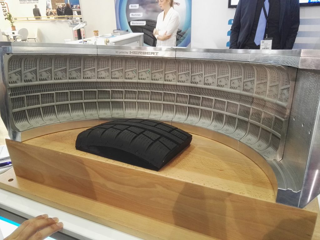 Metal Additive Manufacturing gains ground in the tyre industry