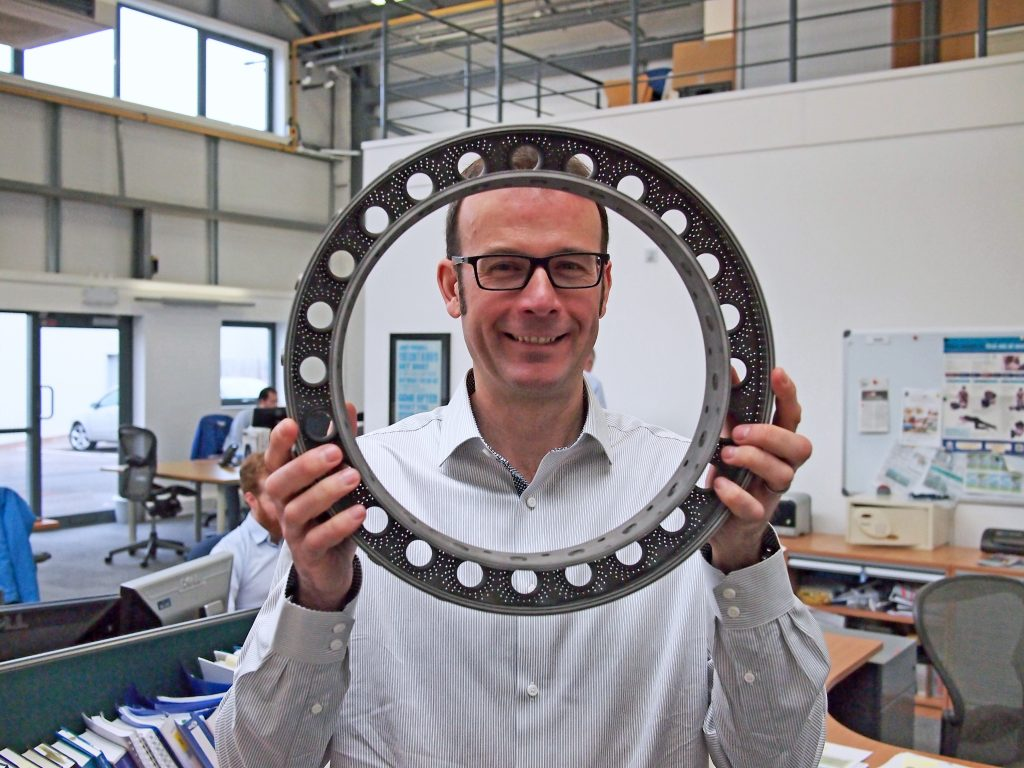 Materials Solutions: Expertise in metal Additive Manufacturing for the aerospace and motorsport industries