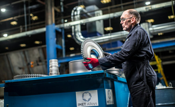 IMET Alloys announces €10 million investment in aerospace-grade titanium processing