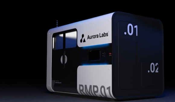 Aurora Labs increases its RMP1 Additive Manufacturing speed to 350 kg per day