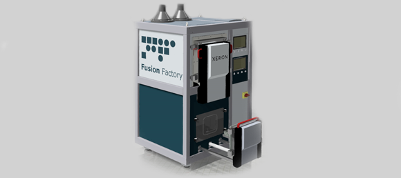 Xerion launches ultra-compact Fusion Factory Additive Manufacturing system