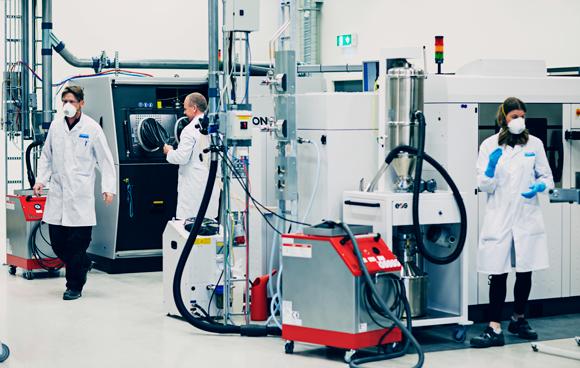 Sandvik to begin production of titanium powder at new atomiser plant