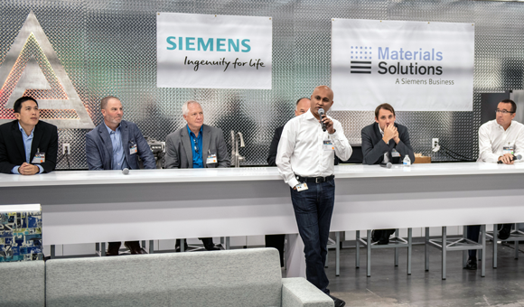 Siemens and Material Solutions open new innovation centre in Florida