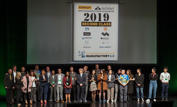 Triditive presents its AMCell at Stanley + Techstars Accelerator Demo Day 2019