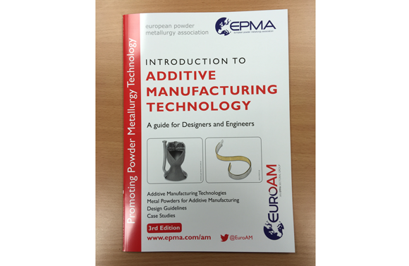 EPMA launches third edition of its Introduction to Additive Manufacturing Technology