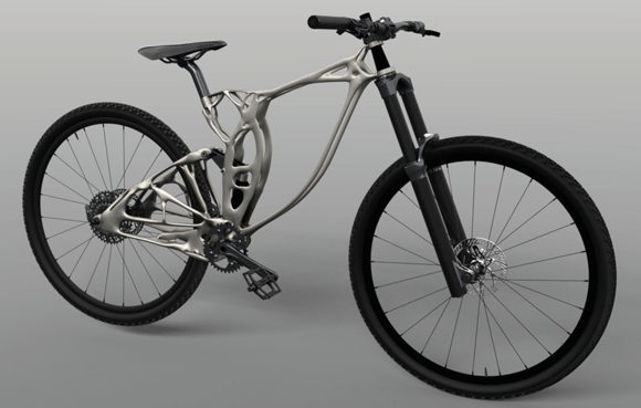 Mountain Bike Frame by NMU Eco-Car