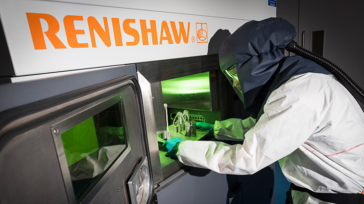 Renishaw and BAE Systems partner to enhance metal AM for defence and aerospace