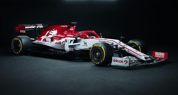 F1 Alfa Romeo race car features 143 metal additively manufactured parts