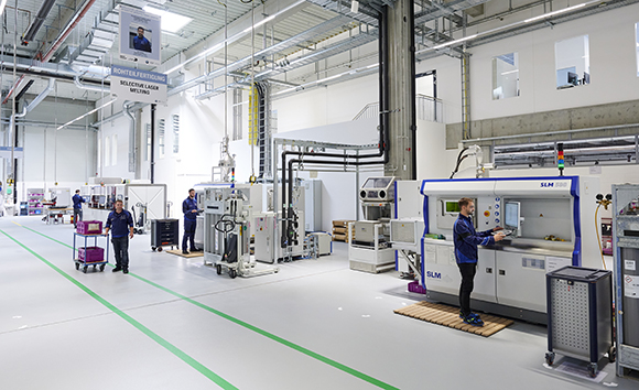 Bmw Group Opens Its New Additive Manufacturing Campus